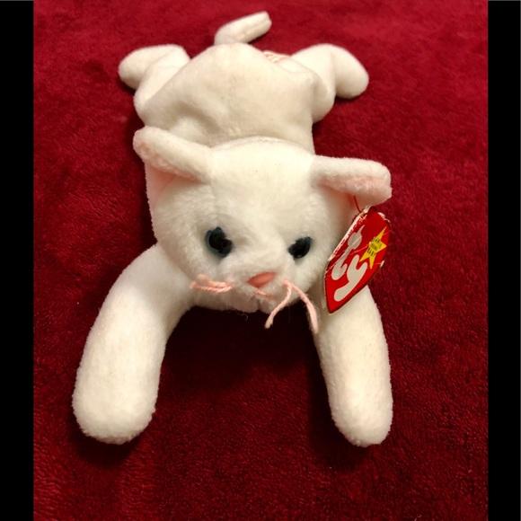 35850d2d543 TY ORIGINAL BEANIE BABY FLIP THE CAT